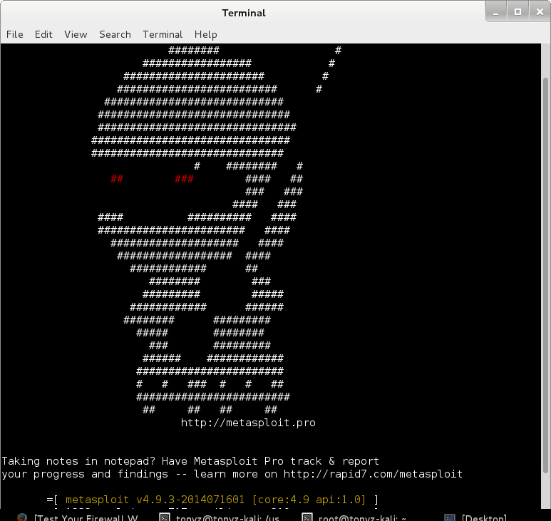 Metasploit-screenshot0715