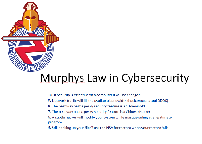 murphyslaw in cybersecurity