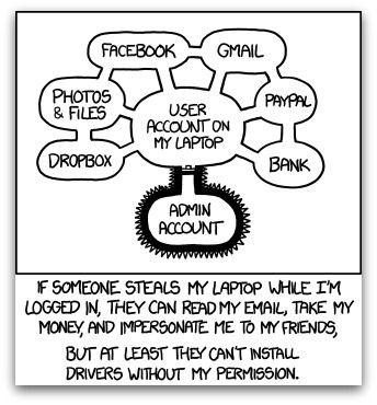 useraccount-versusadminaccount